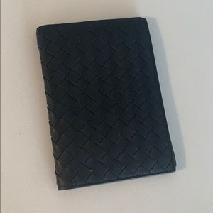 NEW Bottega Veneta Leather Passport Holder Wallet